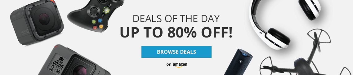 Amazon 80% Off Deals of The Day - Browse Deals